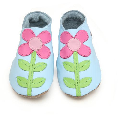Pantofiori din piele pentru copii | Carmina Baby Blue