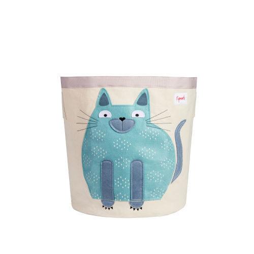 Cos Pentru Jucariile Bebelusului Pisica Albastra