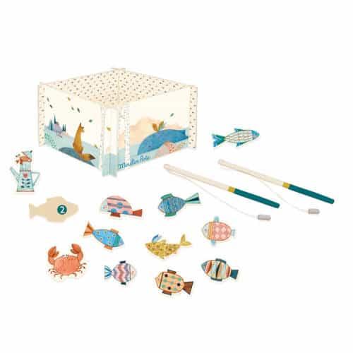 Joc de indemanare pentru copii, La pescuit, Moulin Roty 1