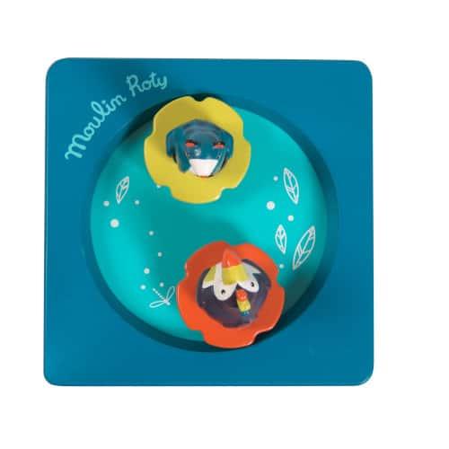 Cutiuta muzicala pentru bebe, In Jungla, Moulin Roty