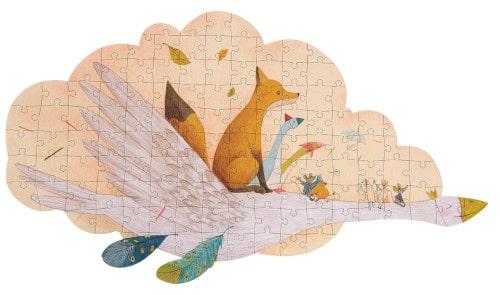 Puzzle bebe in valiza, Doamna Gasca Olga