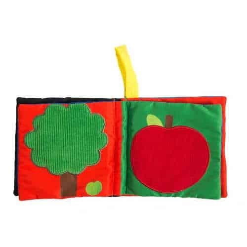Carte Din Material Textil Pentru Bebelusi, Les Popipop, Moulin Roty 1