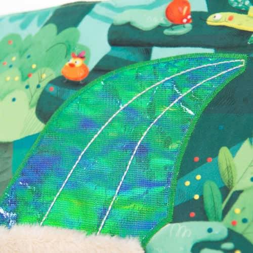 Carte Pentru Bebe Din Material Textil, In Jungla , Moulin Roty 1