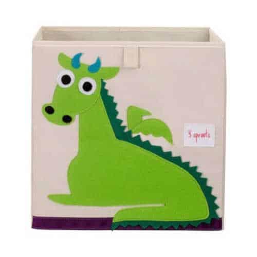 Cutie Jucarii Bebe, 33x33x33, Domnul Dragon, 3 Sprouts