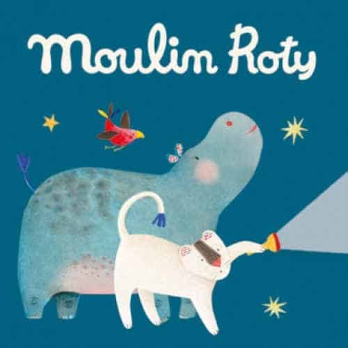 Cutie diapozitve, Lanterna Magica, 3 provesti, Les Papoum, Moulin Roty