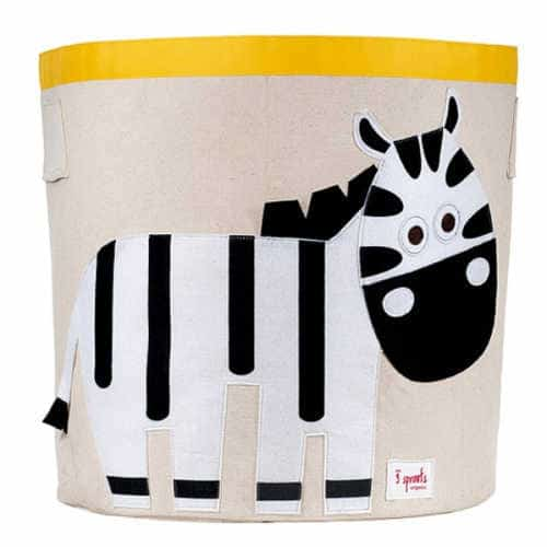 Cos pentru jucariile bebe, Doamna Zebra , 3 Sprouts