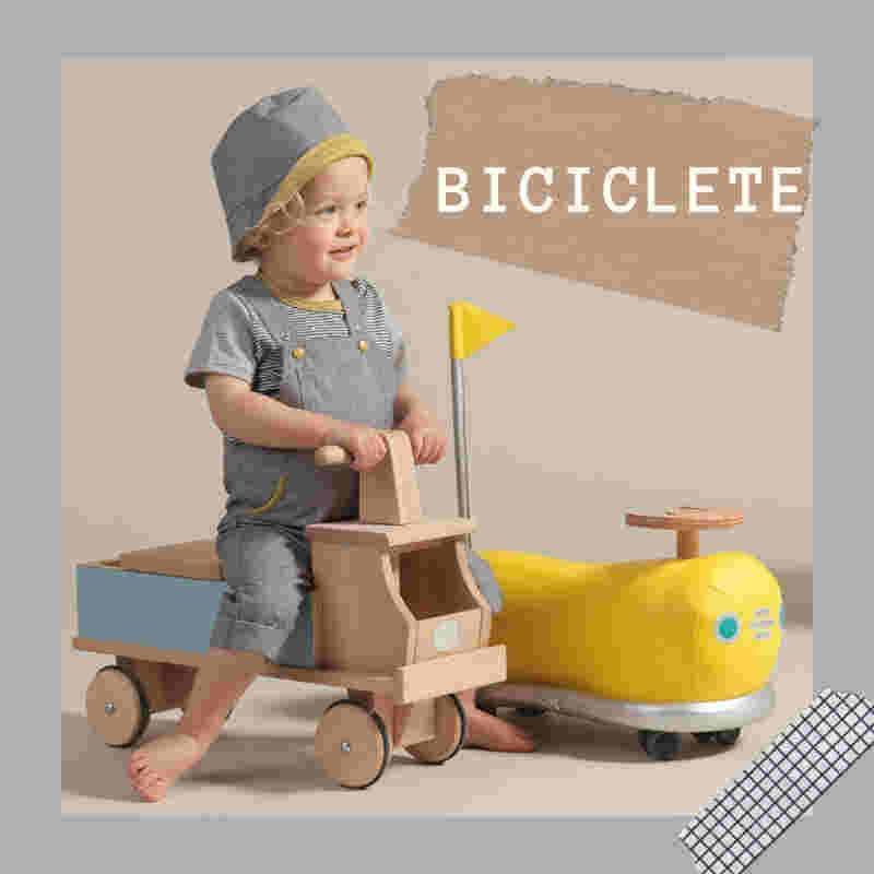 biciclete din lemn fara pedale