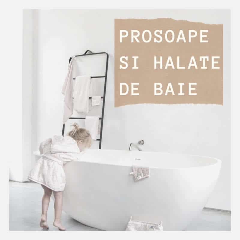 prosoape si halate de baie pentru beblusi