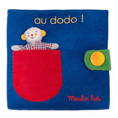 Carte senzoriala pentru bebelusi, Les Popipop, Moulin Roty