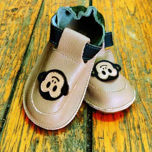 Pantofiori bebelusi, piele naturala, Jojo