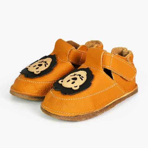 Pantofiori bebelusi, piele naturala, Kimba