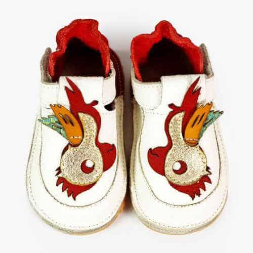 Pantofiori din piele bebelusi, Cracky