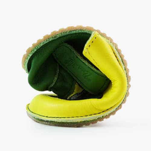 Pantofiori piele naturala bebelusi, Hops