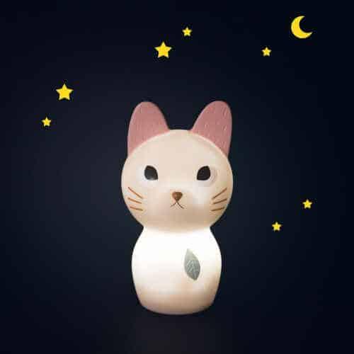 Lampa de veghe bebelusi, Doamna Pisica, Colectia Après la pluie, Moulin Roty