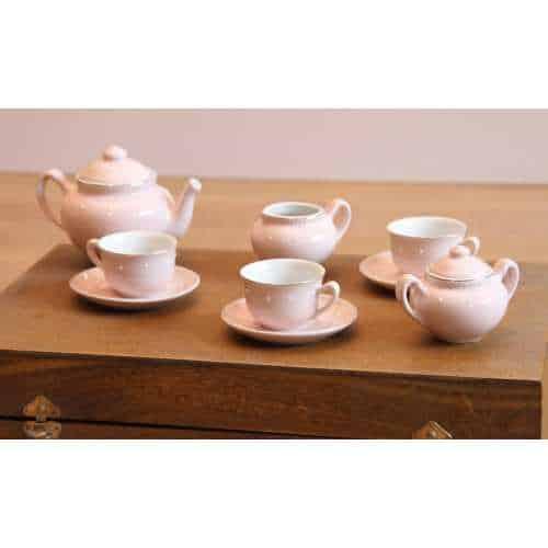 Set ceai, in valiza, pentru copii, Apres la pluie, Moulin Roty