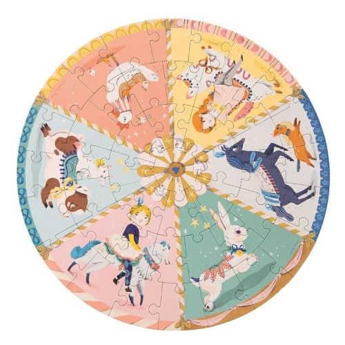 Puzzle-pentru-copii-de-4-ani-La-circ-45-de-piese-Les-Parisenns-Moulin-Roty-desfacut